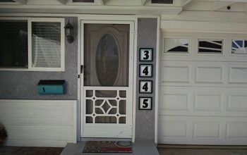 A Quick DIY Project:  House Numbers