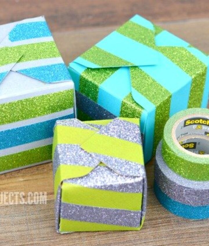 diy glittering gift and treat boxes, crafts