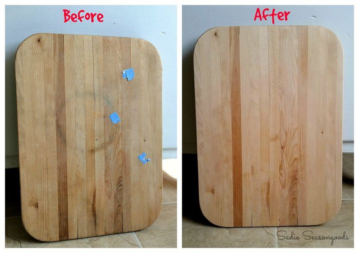from cutting board to trendy tray, crafts, repurposing upcycling, seasonal holiday decor, thanksgiving decorations