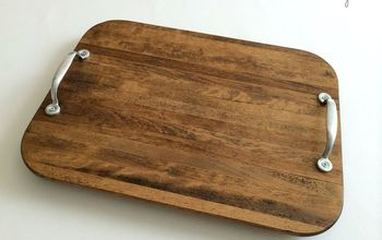 From Cutting Board to Trendy Tray!