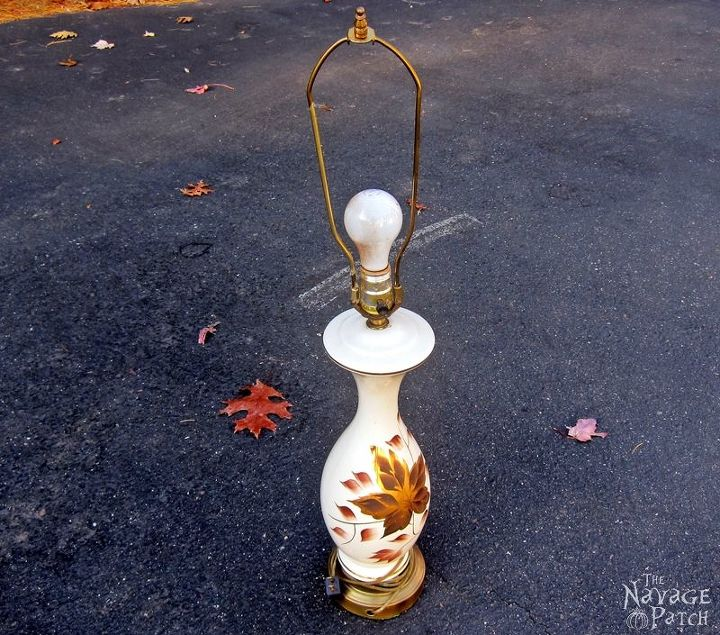 the old lamp revamp, crafts, home decor, lighting, repurposing upcycling