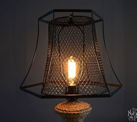 Captivating The Old Lamp Revamp, Crafts, Home Decor, Lighting, Repurposing Upcycling