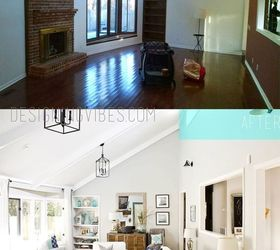 Transforming A Dark Outdated Living Room Into A Light And Airy Space,  Fireplaces Mantels, Part 73