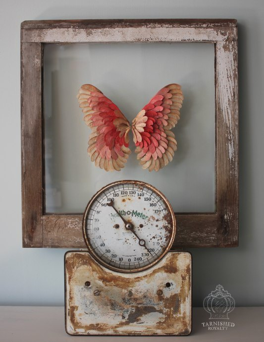 maple seed butterfly art, crafts, home decor, wall decor