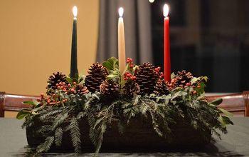 Christmas Yule Log DIY Tutorial