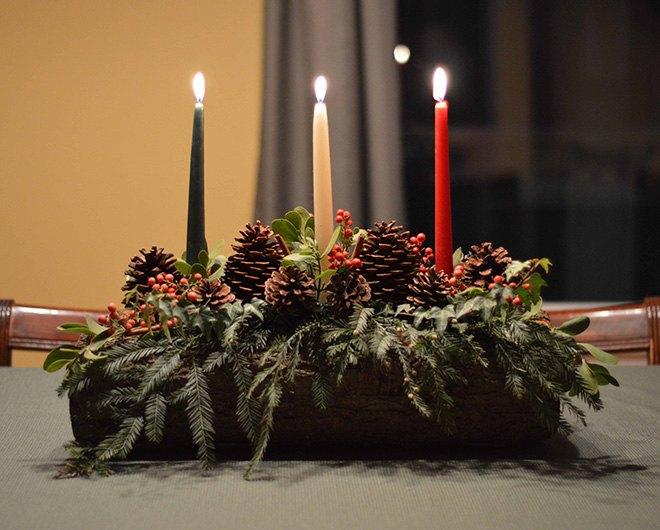 Медитация на Йоль (Зимнее солнцестояние) Christmas-yule-log-diy-tutorial-christmas-decorations-crafts