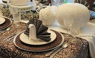turkey napkin fold diy, seasonal holiday decor, thanksgiving decorations