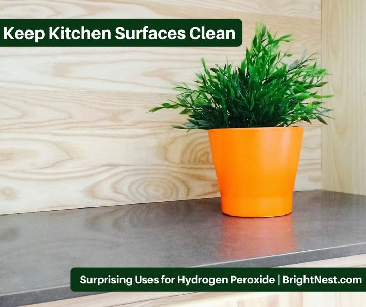 9 surprising uses for hydrogen peroxide, cleaning tips