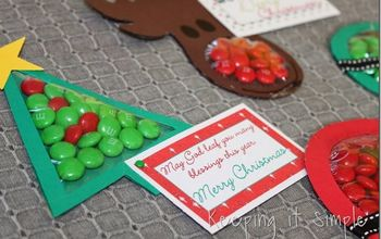 Easy Christmas Candy Pouches #Christmas