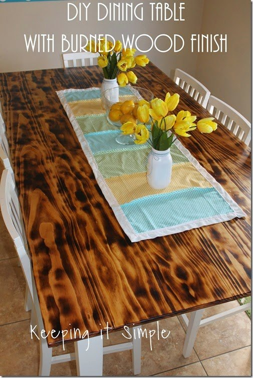 How To Distress A Dining Room Table