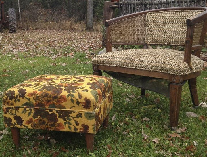 a contest and a learning curve my first upholstery project, reupholster