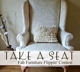 A Wingback Chair Makeover Hometalk