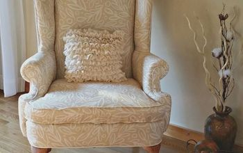 A Wingback Chair Makeover