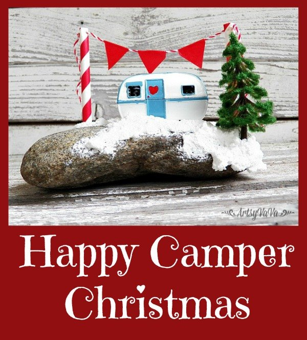 happy camper christmas christmas decorations crafts seasonal holiday decor - Camper Christmas Decorations