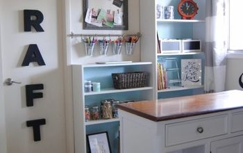 Junk Room to Craft Room Makeover