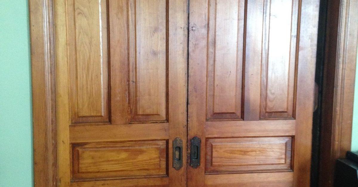 Very best How to Repair Old Pocket Doors | Hometalk EK21