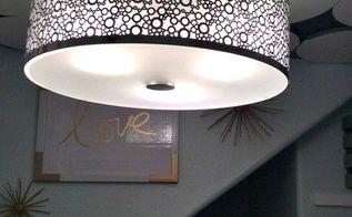 diy ceiling medallion, diy, kitchen design, wall decor