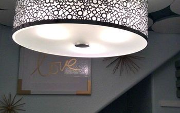 diy ceiling medallion, diy, kitchen design, wall decor