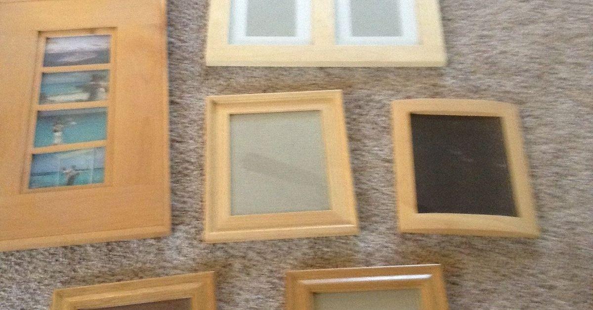 Oak picture frames, shabby chic? Color? | Hometalk