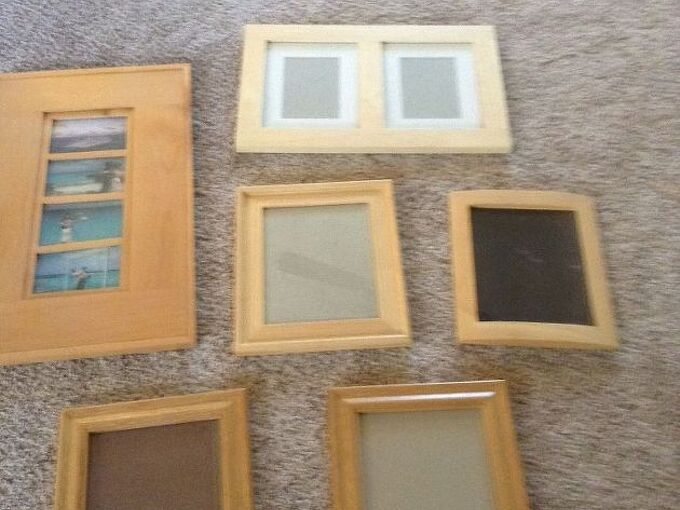 Shabby Chic Colors For 2015 : Oak picture frames shabby chic? color? hometalk