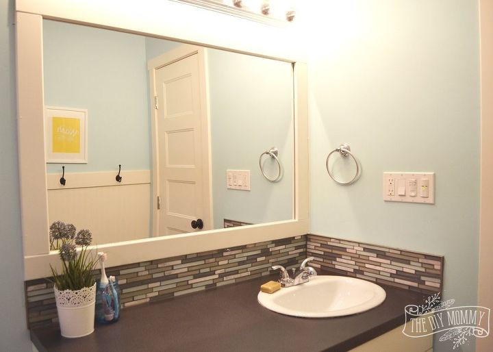 a happy yellow aqua kids bathroom, bathroom ideas, painting