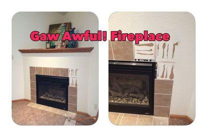 The Awful Corner Fireplace Hometalk