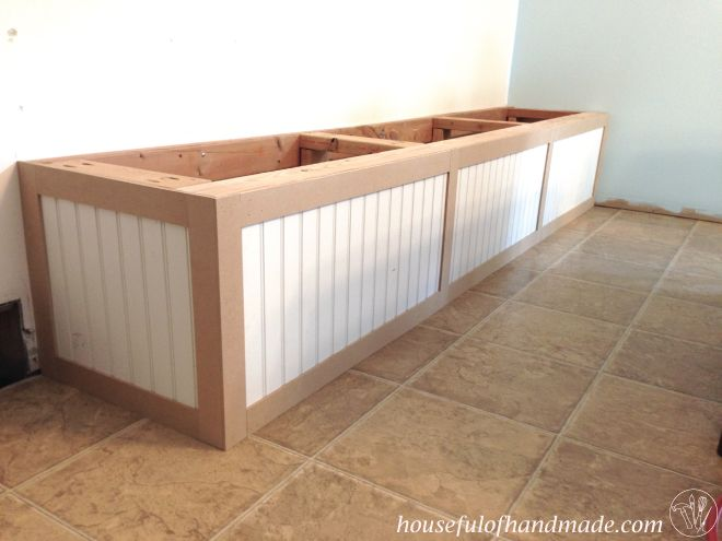 Dining Room Built In Bench With Storage Ideas Diy