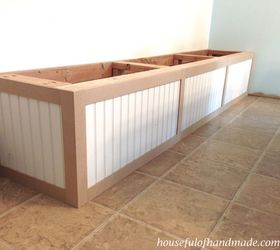 Perfect Dining Room Built In Bench With Storage, Dining Room Ideas, Diy, Storage  Ideas