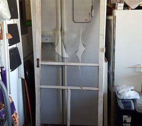 re purposing a vintage screen door craft rooms doors repurposing upcycling & Re-purposing A Vintage Screen Door   Hometalk