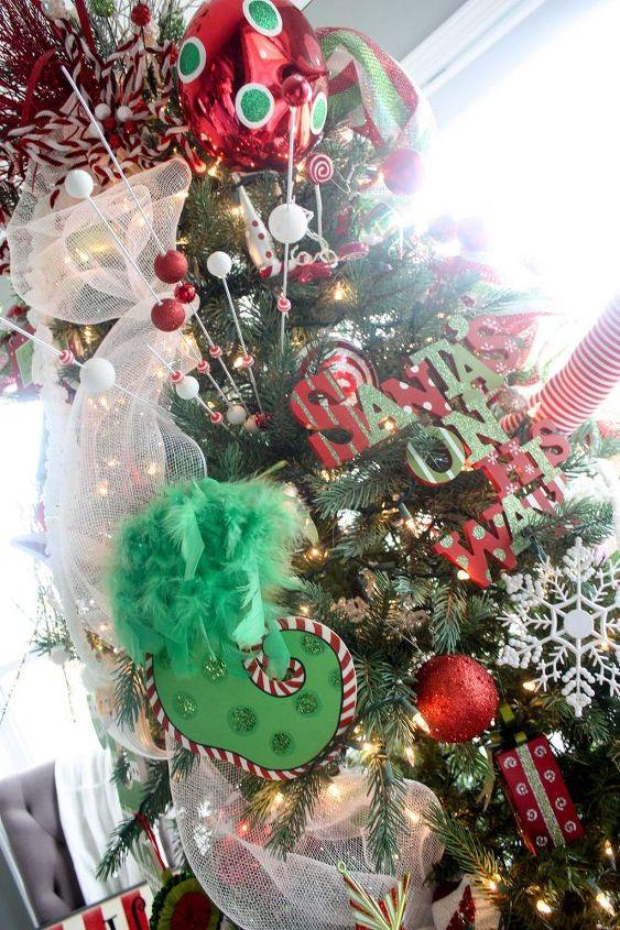 my whimsical christmas tree christmas decorations crafts seasonal holiday decor