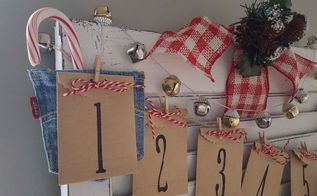 revive an old shutter for christmas, christmas decorations, crafts, repurposing upcycling