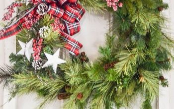 Repurpose An Old Christmas Wreath