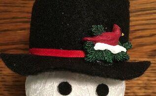 mr mrs frosty ornaments, christmas decorations, crafts, seasonal holiday decor