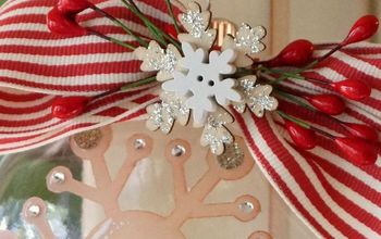 vintage diy etched christmas ornament with etchall, christmas decorations, crafts, seasonal holiday decor