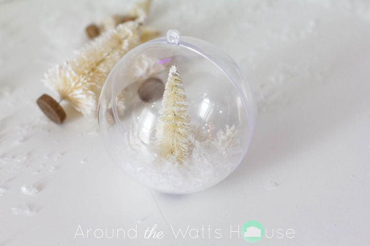 winter wonderland ornament, christmas decorations, seasonal holiday decor