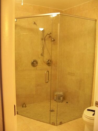 What is the best way to keep my glass shower doors clean hometalk we put in a 36 inch wide door since this will be our last house planetlyrics