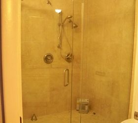 Q What Is The Best Way To Keep My Glass Shower Doors Clean, Bathroom Ideas
