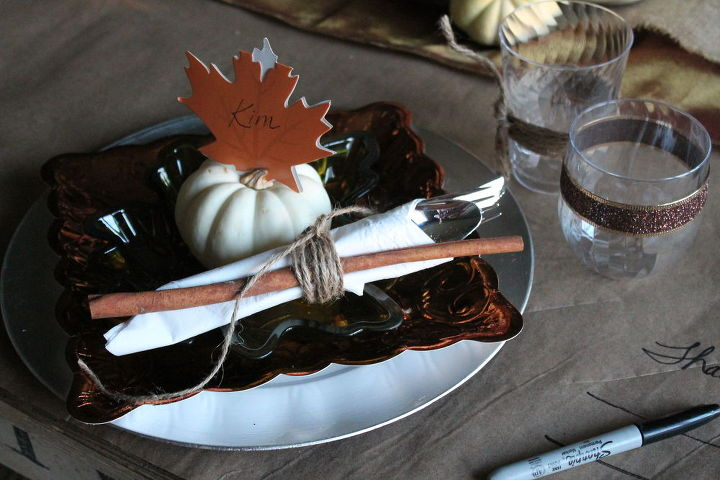 need last minute thanksgiving table ideas, crafts, seasonal holiday decor, thanksgiving decorations