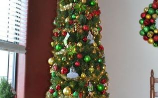 sturdy artificial christmas tree cover, christmas decorations, crafts, repurposing upcycling
