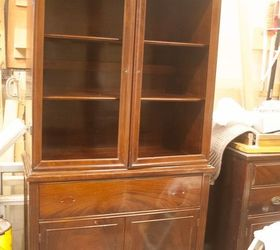 Genial China Cabinet Makeover From Traditional To Farmhouse, Kitchen Cabinets,  Kitchen Design, Painted Furniture