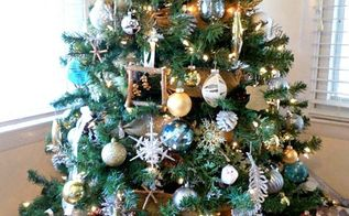 how to make the most of a cheap christmas tree, christmas decorations, how to, seasonal holiday decor