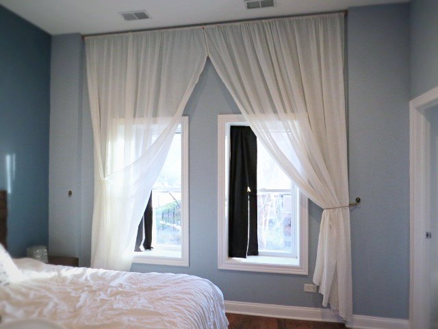 Let S Make A Giant Floor To Ceiling Curtain Diy Home Decor Wall