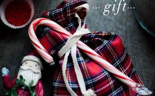 hot cocoa mix diy gift bag, crafts