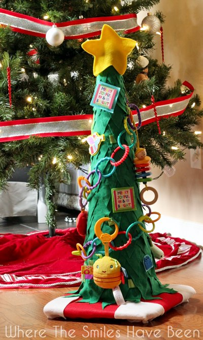 Diy Toddler Christmas Tree From A Traffic Cone Decorations Crafts Seasonal Holiday