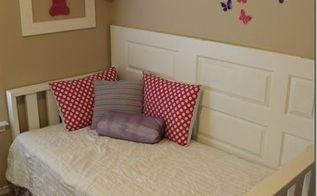 diy daybed made from old door diyfurniture, bedroom ideas, diy, painted furniture, repurposing upcycling