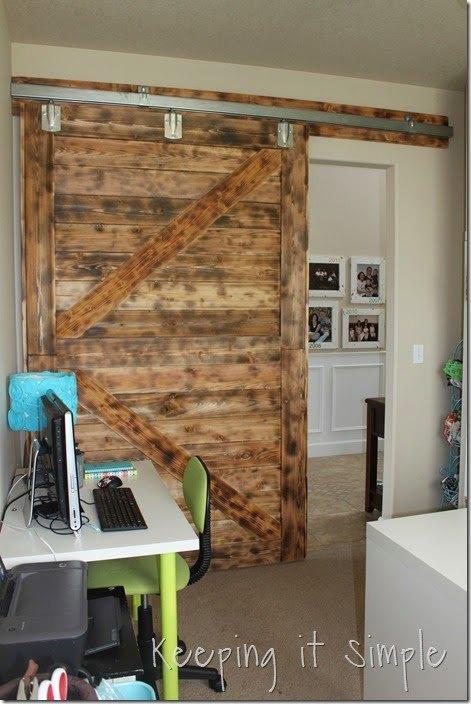 Diy Large Barn Door Perfect For Large Openings Diy Buildit Hometalk