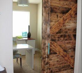 diy large barn door perfect for large openings diy diy doors home office