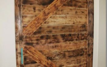 diy large barn door perfect for large openings diy, diy, doors, home office, repurposing upcycling, rustic furniture