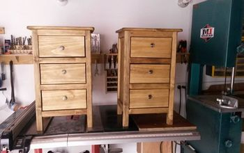 bedside tables night stands, diy, painted furniture, woodworking projects