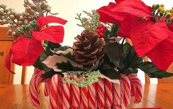 diy dollar store christmas centerpiece, christmas decorations, crafts, seasonal holiday decor